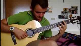 """The Beauty and the Beast - """"Tale as Old as Time"""" - Disney, Alan Menken - guitar cover"""