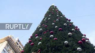Serbia: Is this really the world's most expensive Christmas tree?
