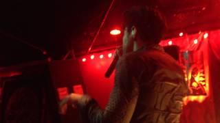 Blaqk Audio- Faith Healer (Live @ Alex's bar in Long Beach, Ca. 9/8/12)