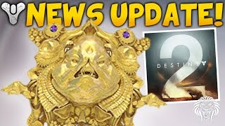 DESTINY 2 NEWS UPDATE! Cabal Emperor, New Foundry Weapons & Queen of the Reef?