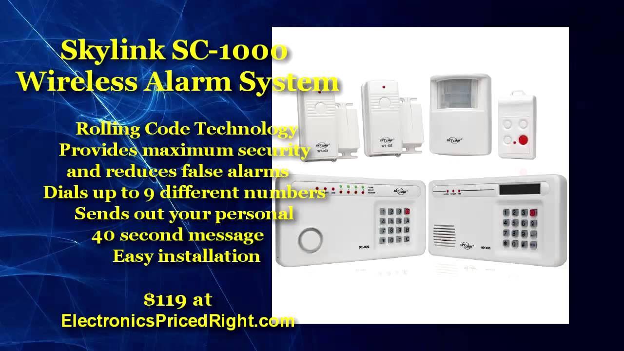 Best Wireless Home Alarm System San Benito TX