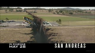 SAN ANDREAS - Official TV Spot #3 (2015) Dwayne Johnson Disaster Movie