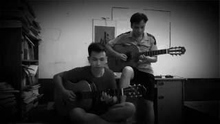 Bụi phấn hòa tấu guitar