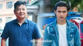 Dayahang Rai and Anmol KC