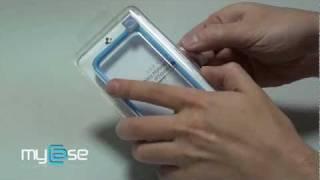 Carcasa iPhone 4S Neo Hybrid 2S seria Pastel de la Spigen SGP - Blue