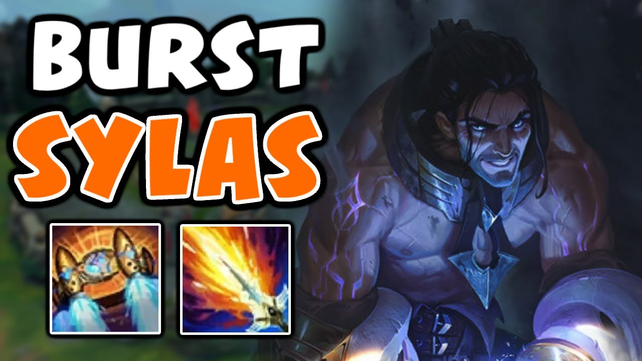 PekinWoof - The New Sylas build that makes him a burst mage | Challenger Sylas | 10.23 - League of Legends