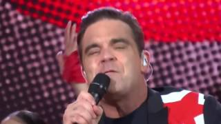 Robbie Williams Live June 2017.   Let Me Entertain You.  Manchester We Are Not F***ing Scared