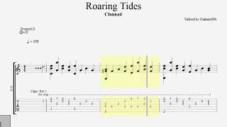 Clannad - Roaring Tides (Fingerstyle Tab)