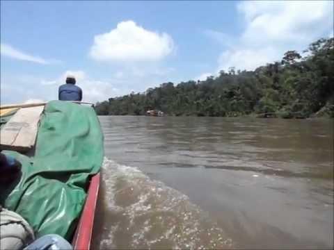 Peru – Boat Trip on the Rio Napo Amazonas