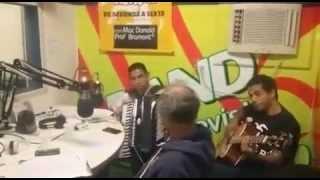 Cinderela do Forró - Entrevista Band Fm - Massinha Agito geral