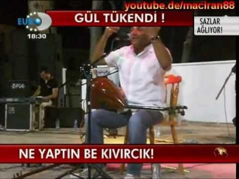 Ünlü Türkücü Kıvırcık Ali'nin Trafik Kazasında Ölüm haberi [HQ]