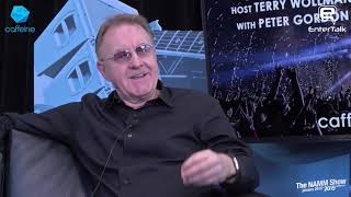 NAMM 2019: Composer Peter Gordon live interview on EnterTalk and Caffeine TV