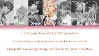 BTS - Crow Tit/Try-Hard (뱁새) (Color Coded Han Rom Eng Lyrics)   by Yankat