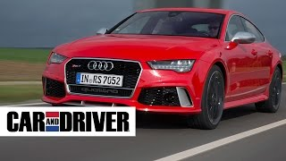Audi RS7 Review in 60 Seconds | Car And Driver
