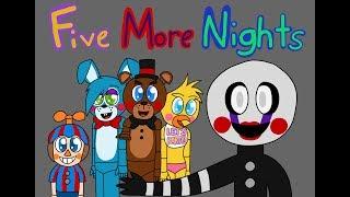 Five More Nights Short Animation - FNAF 2 Rap