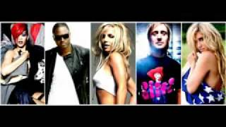 Britney Spears vs  Kesha  Taio Cruz  Rihanna  David Guetta   Hold It Against Me Megamix Mash Up youtube original