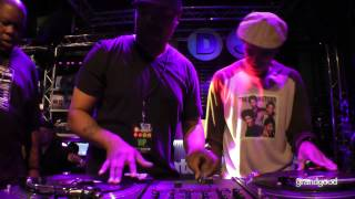 DJ Cash Money + DJ Scratch + Biz Markie = Turntable Foolishness