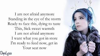 Halsey - Not Afraid Anymore (Lyrics) (50 Shades Darker Soundtrack)
