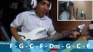 Stiches and burn   fra lippo  lippi   guitar cover with chords