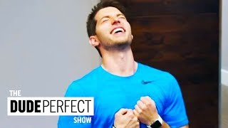 Dude Perfect Teaches Coby How To Play Like a Champion | The Dude Perfect Show