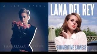 Lana Del Rey ft Miley Cyrus - Summertime Sadness