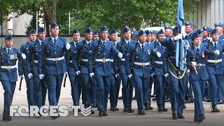 Will The Royal Canadian Air Force Pass The British Army's Drill Test? | Forces TV