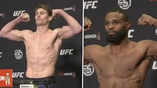 Darren Till and Tyron Woodley both make weight ahead of UFC 228