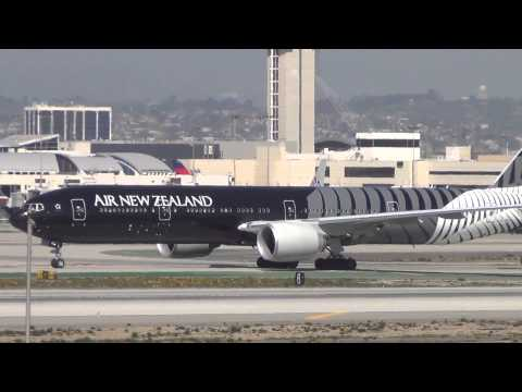 "Air New Zealand ""All Blacks"" 777-319/ER at LAX"