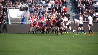 Rugby Crunch RCMN vs Royal Navy Essai Mathieu LOUDET Stade Mayol Live TV Sports 2018
