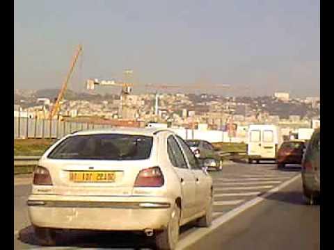 Entrée d'Alger DZ (Algérie)