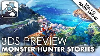 CARTOON CAPERS | Monster Hunter Stories 3DS TGS2015 preview