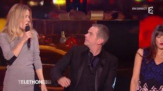 """Garou, Nolwenn Leroy, Véronique Dicaire et Ibrahim Maalouf """"Hit The Road Jack"""" - Téléthon 2014"""