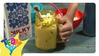 Snaks Naman: Iced Milk Drink Making | Team Yey