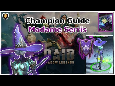 RAID Shadow Legends | Champion Guide | Madame Serris