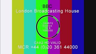 BBC London Broadcasting House Test Card