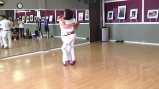 Kizomba - Isabelle & Félicien - Kizomba Harmony (Workshop)