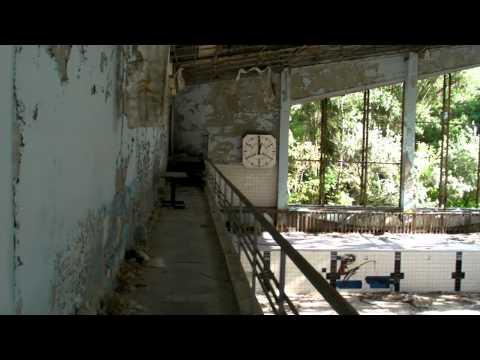 "Pripyat: Swimming Pool ""Lazúrnyj"" (""Lazurny"" – Azure)"