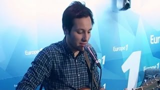 """Vianney interprète """"Je m'en vais"""" en live sur Europe 1"""