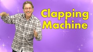 Clapping Machine is a great brain breaks song engaging kids with clapping patterns | Jack Hartmann