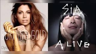 Living Gold | Christina Perri & Sia Mashup!