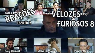 Velozes e Furiosos 8 trailer 2  reações
