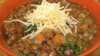 Hearty Lentil Soup Recipe by The Wolfe Pit