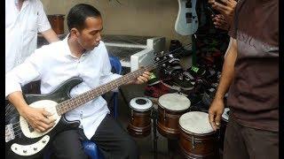 Jokowi Feat Boomerang [ Pelangi ] Rock & RoLL - Fokus Baju Putih Bass