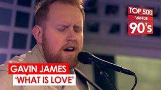 Gavin James - What Is Love (90's cover // live bij Mattie & Wietze)