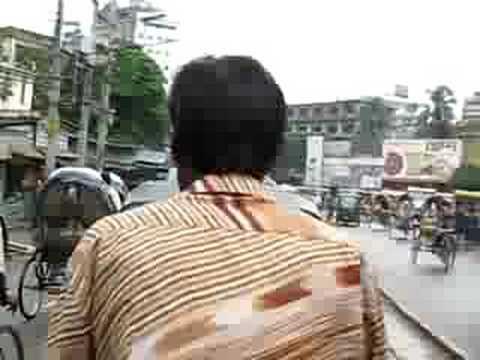 Rickshaw ride 2 in Dhaka