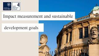 Measuring Sustainability Impact