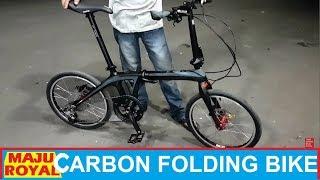 Merakit Sepeda Lipat Carbon XLR8 di Toko Sepeda Majuroyal