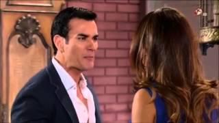 Mentir para Vivir - Oriana cachetea a Ricardo
