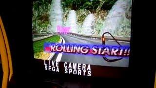 Sega Daytona USA 2 Live Action Camera (Beginner)