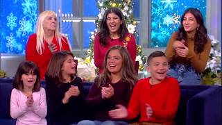 Sister Raises Five Siblings Alone After Parents' Death, Part 2 | The View